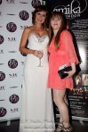 With blogger Nixalina Watson at her blog's 'Sex & And London City' press party