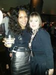 With Arlissa at Shoreditch House in November, 2012